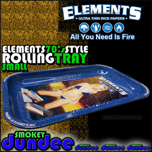 Elements Small 70s style rolling tray