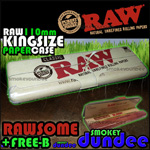 RAW 110mm rolling paper tin